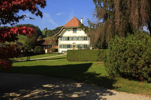 Das Pfarrhaus in Lützelflüh
