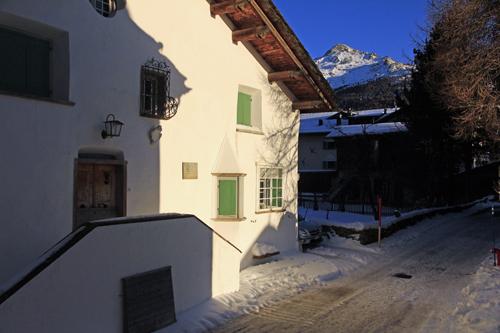 Das Haus Jäger in Sils Baselgia